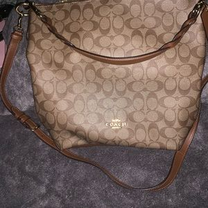 Gently used coach f31477 Abby duffle crossbody bag